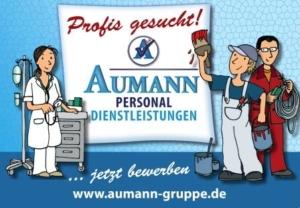 Profis gesucht - Aumann Personaldienstleistungen